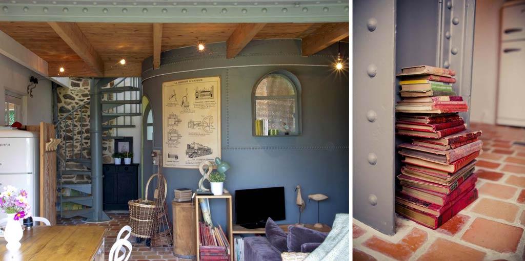 Design-Ferienhaus in der Bretagne, Frankreich