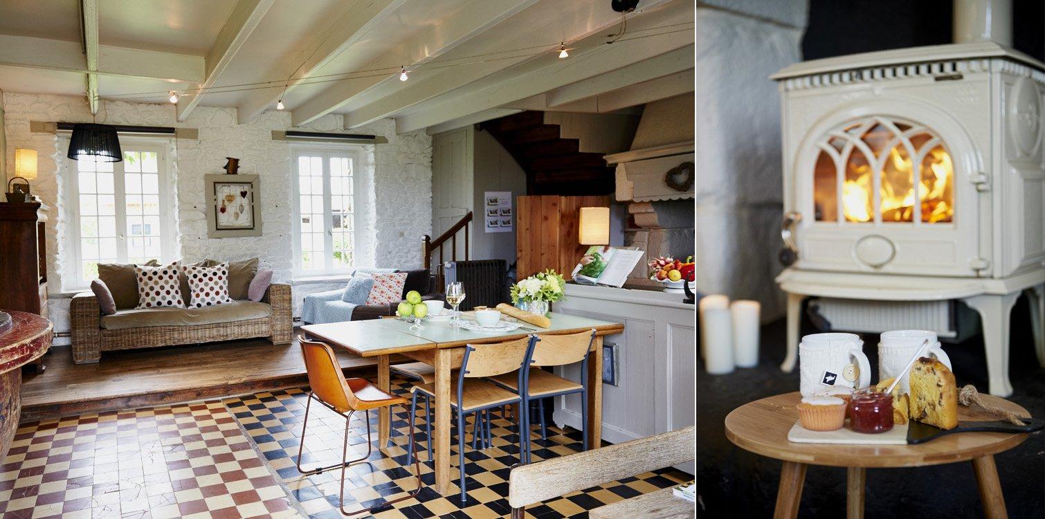 Entzückendes Ferienhaus im Landhausstil in der Bretagne