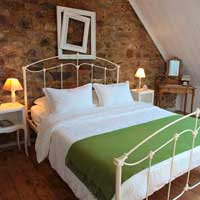large bedroom in self-catering accommodation