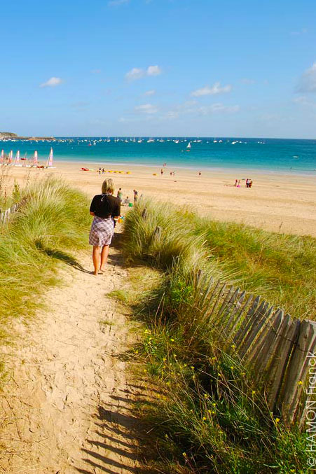 family friendly beaches in Brittany