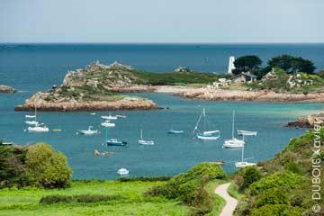 Découvrir l'île de Bréhat en Bretagne