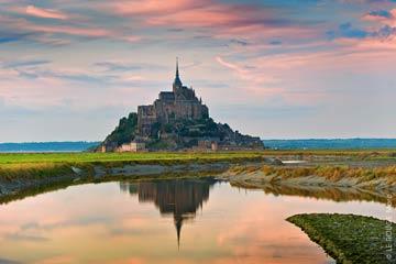 De St-Malo au mont Saint-Michel
