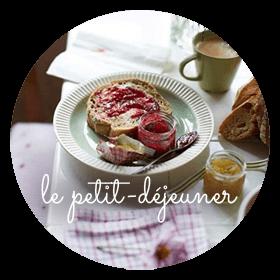 Petit-déjeuner champêtre d'un séjour en Bretagne