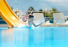 swimming pools in Binic, Guingamp, Quintin and St-Brieuc